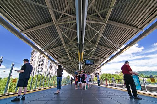 Lougheed Skytrain by petetaylor