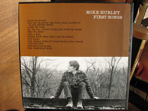 Mike Hurley - First Songs LP (back cover)