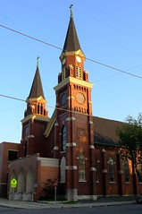 St. Wenceslaus Church (wrokic) Tags: tower church architecture steeple milwaukee leicax1