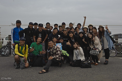 Kaohsiung crew came to Japan / 19th, June. at Kugenuma skate park