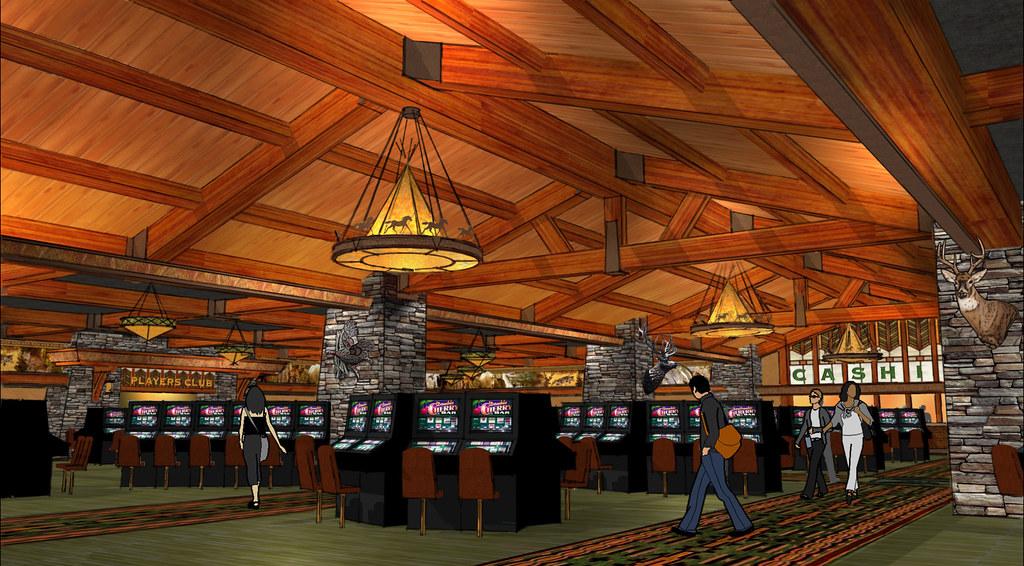 Interior Casino Design | Conceptual Casino Design | 3D Casino Rendering | Casino Decor Design | Casino Cashier Area