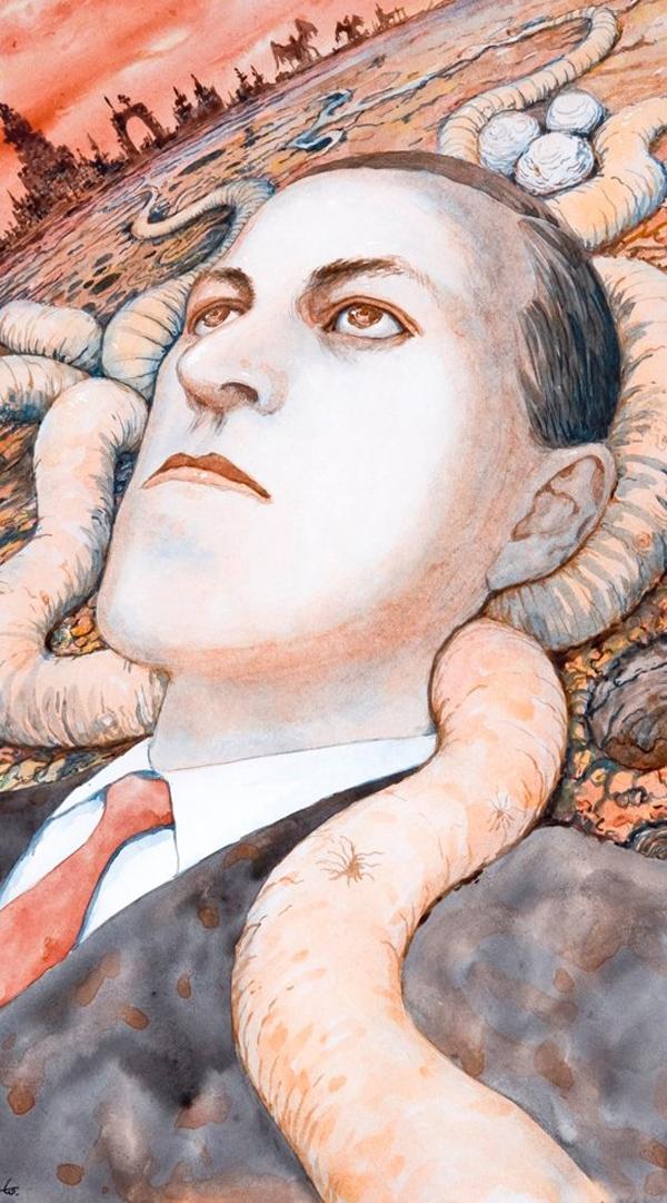 Junji Ito - H.P Lovecraft