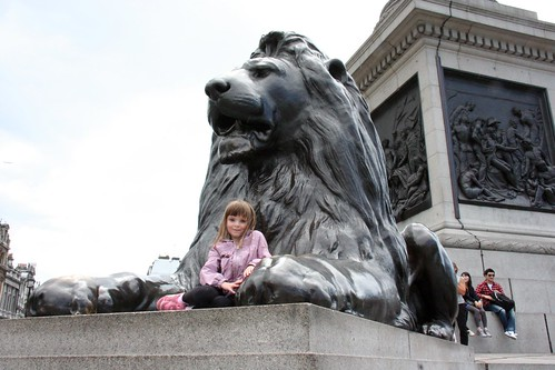 Trafalgar Lion