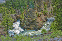 Yellowstone river (Pattys-photos) Tags: yellowstoneriver yellowstonepark