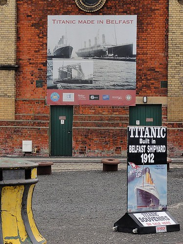 Titanic ads by the Dry dock