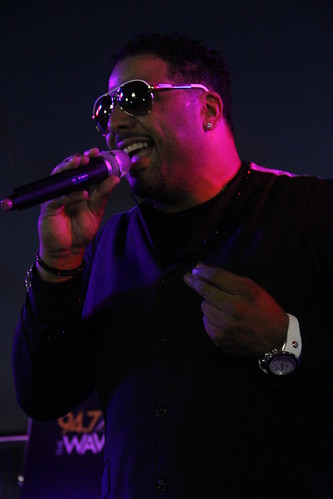 Al B. Sure at ICON Ultra Lounge