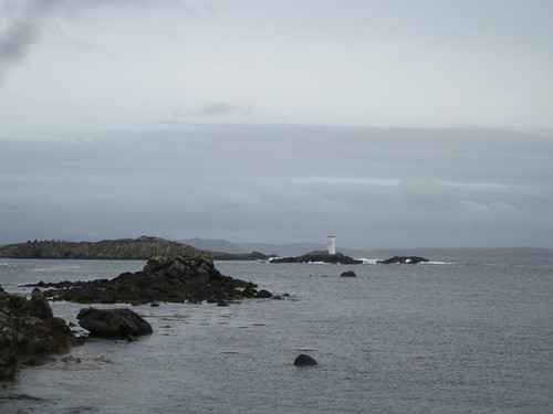 Inishbofin harbor view