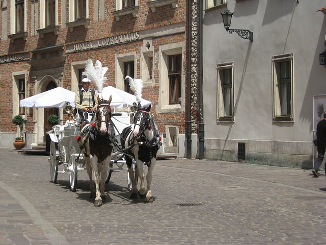 A Krakow street