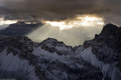 Abenddämmerung in den Dolomiten (G.Hoelzel) Tags: di rozecol em1 tofanadiroze coldilana falzarego lagazuoi sdtirol belluno casteletto abenddämmerung lipella olympusem1 olympus