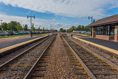 DSC_2332 (Holt MeCloser) Tags: train tracks city metra transit transportation rail railroad symmetry symmetrical
