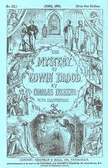 'Mystery of Edwin Drood' - cover of the last monthly part (petkenro) Tags: dickens edwin drood