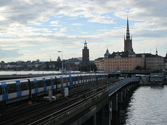 IMG_1016 (Sweet One) Tags: slussen gamlastan stockholm sweden train metro bridge