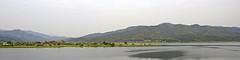 Panorama in Yangpyeong (Synghan) Tags: panorama yangpyeong landscape scenic scenery wideangle rural country countryside lake river riverside mountain photography horizontal outdoor colourimage fragility freshness nopeople foregroundfocus adjustment selectivefocus korea local place longdistance interesting awe wonder nature traveldestination landmark attraction tranquility tranquilscene gyeonggido canon eos600d rebelt3i kissx5 sigma 1770mm f284 dc macro lens 양평 경기도 풍경 파노라마