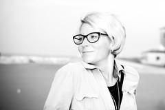 IMG_0056 (MartinVlcek) Tags: women glasses beach short hair caorle