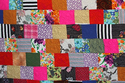 mamaka mills recycled quilte, custom memory quilts, recycled fabric quilt 2