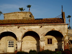 tile roof and arches