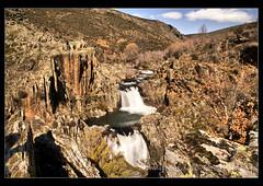 Cascada del Aljibe (* terescopica *) Tags: sony guadalajara a100 rutas mayte castillalamancha aljibe maytevidal cascadadelaljibe