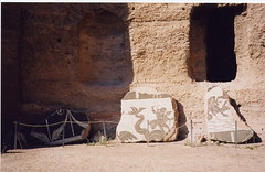 Caracalla Baths sea monster (Hairyscot) Tags: vatican rome colosseum baths ostiaantica caracalla caracallabaths