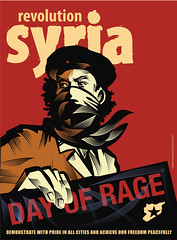 Day of Rage (freestylee) Tags: art poster freedom northafrica tunisia egypt demonstration cnn bbc revolution syria libya tripoli damascus hama forces resist homs facebook syrian march25 latakia prodemocracy michaelthompson freesdom twitter daraa hafezalassad freestylee libyayemen