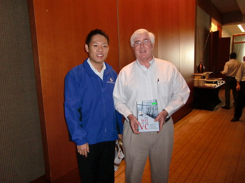 Yinglan Tan with Ron Conway