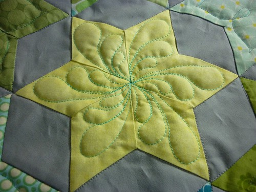 started quilting