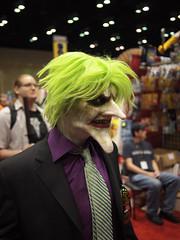 The joker (Fernando Lenis) Tags: orlando photos cosplay fernando joker fl megacon cosplayers 2011 lenis