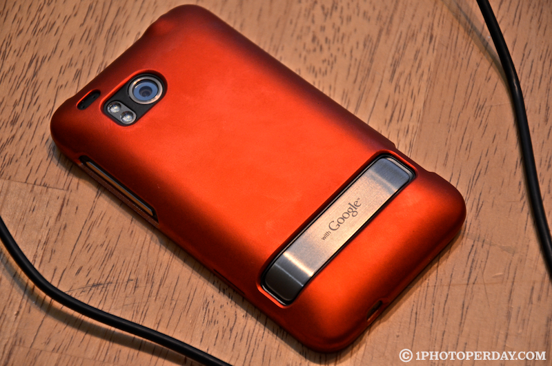 Orange HTC Thunderbolt case
