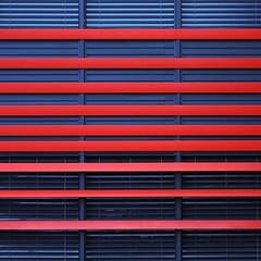 red blue facade (duqueros) Tags: blue red abstract building rot lines architecture modern composition facade schweiz switzerland suisse architektur cocacola blau svizzera fassade kantonzrich creattivit duqueiros