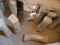 Qusayr 'Amra, Jordan hypocaust supports (army.arch) Tags: castle support desert interior unesco worldheritagesite jordan bathhouse hypocaust qasramra easterndesert qusayramra umayyad quseiramra caldarium