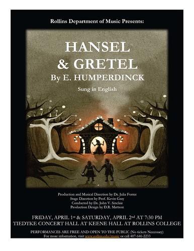 Rollins Hansel & Gretel Poster