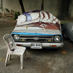 .. (andrewaaa5) Tags: car thailand automobile under cover shade undercover protect