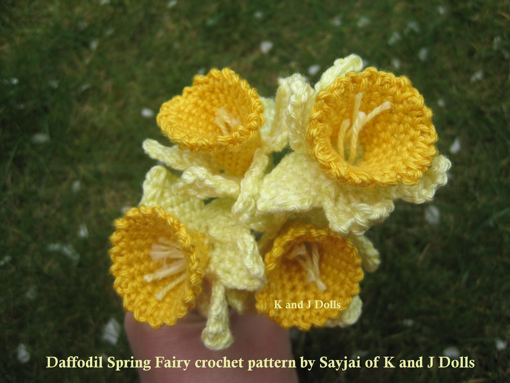 Daffodil Spring Fairy Amigurumi Crochet Pattern : The Worlds Best Photos by K and J Dolls Amigurumi ...