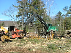 DSCF4733 (M.Bouzakine) Tags: forestry logging skidder fellerbuncher