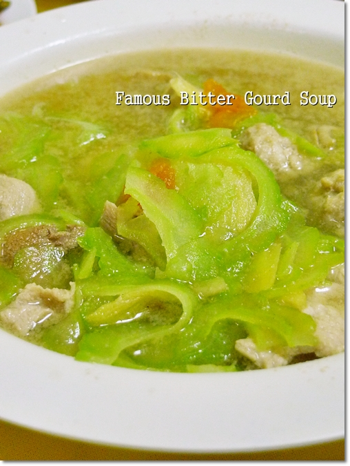 Famous Bitter Gourd Soup