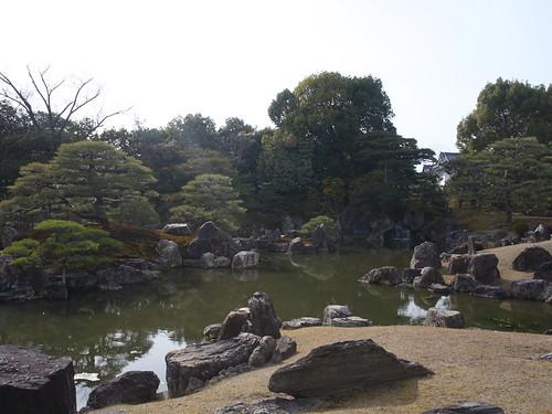 二の丸御殿庭園別名「八陣の庭」