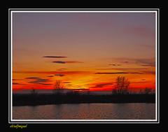 Tarde de Pantano (3) (eb3alfmiguel) Tags: sol atardecer agua lagos cielo puesta