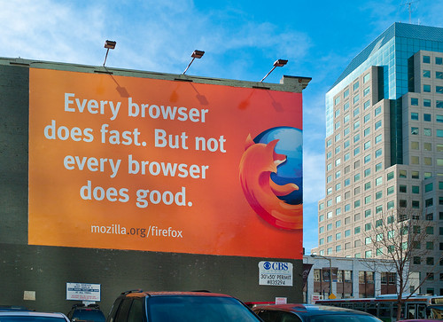 Every browser does fast. Not every browser does good