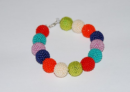 Pulsera colorines by rbk_rebeka