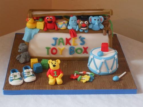 Toy Box cake. | Sweet Sassy Cakes