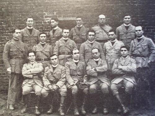 Foto de Grupo - Corpo de Capelães CEP - Flandres 1918