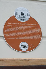 Photo of Richard Weston brown plaque
