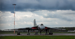 Home at Last (BlueSteels) Tags: march yorkshire delta olympus help assist directions b2 newhome vulcan rha find avro doncaster 558 egc robinhoodairport xh558 finningley vulcantothesky vtts