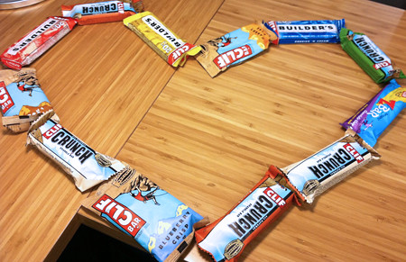 Clif Bar Valentine's Day Heart