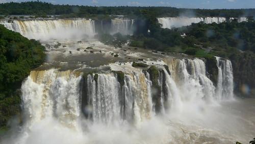 Les chutes d'Iguazu vues du côté brésilien