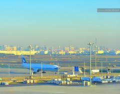 Morning breeze in Tokyo (Nasrul Hadi) Tags: morning japan sunrise landscape photography tokyo photo airport nikon international breeze journalism haneda d90