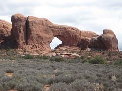 North Window Arch (Patricia Henschen) Tags: utah moab archesnationalpark northwindowarch