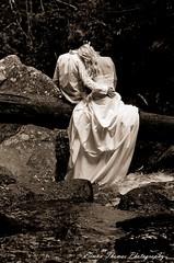 (TOUGEFC) Tags: wedding trash groom bride waterfall dress pentax limited k5 ttd strobist
