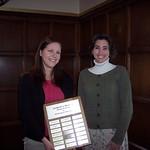 2010 recipient, Amanda Paganin -