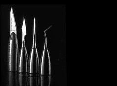 Escultores (Fernando Rey) Tags: dental carving wax instruments sculptures cera escultor encerador