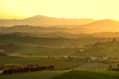 Golden light (grazanna) Tags: light landscape golden hills luce paesaggio colline monteprandone dorata